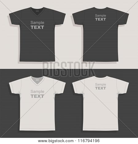 Men's t-shirt design template