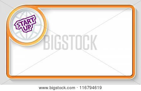 Start Up Symbol