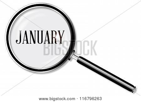 January Magnifying Glass