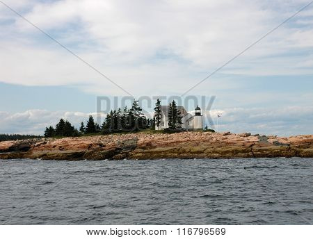 Bear Island Light - Maine Lighthouse