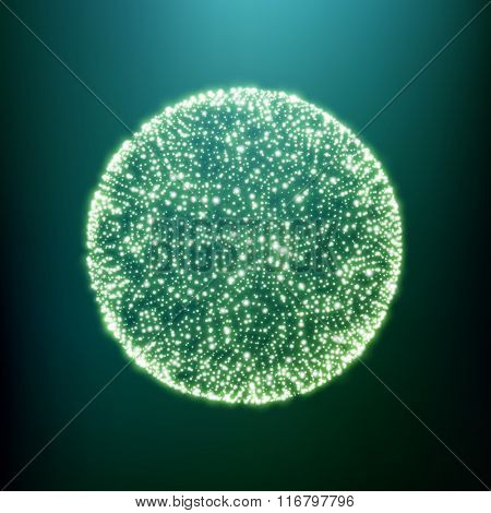 The Sphere Consisting of Points. Global Digital Connections. Abstract Globe Grid. Wireframe Sphere Illustration. Abstract 3D Grid Design. A Glowing Grid. 3D Technology Style. Networks - Globe Design.