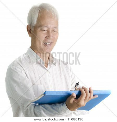 Asian Senior Businessman