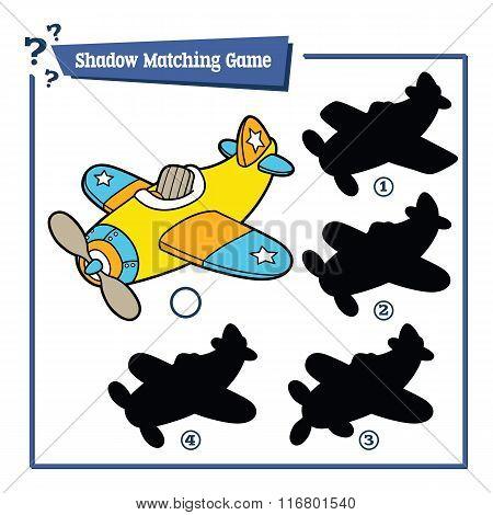 funny shadow plane game.
