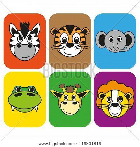 animal afrika set