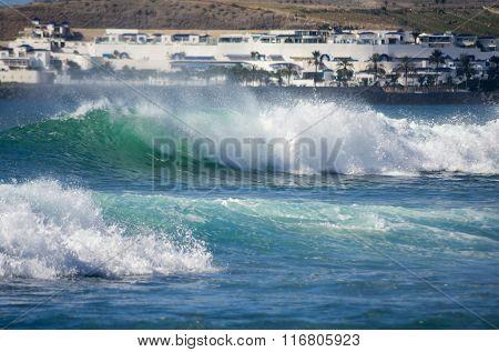 The Coast Of Atlantic Ocean