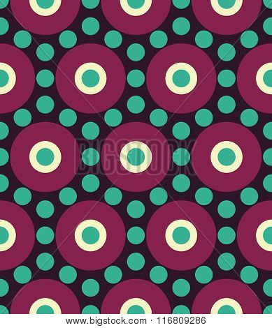 Vector modern seamless colorful geometry circle pattern color abstract