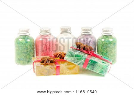 Mineral salt and soaps