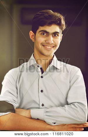 Arabian teenager
