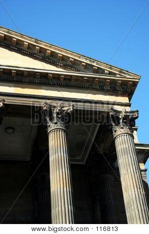 Greek Styled Building Detail