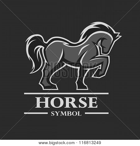 Horse symbol, logo and other design.