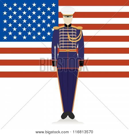 Conductor of of a military band USA-1