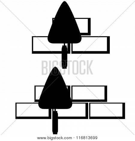Masonry trowel