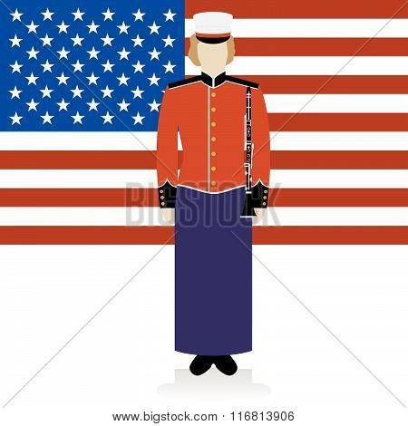 US Military Band Musician-2