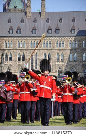 Changing Guard Ceremony at Parliament Hill, Ottawa