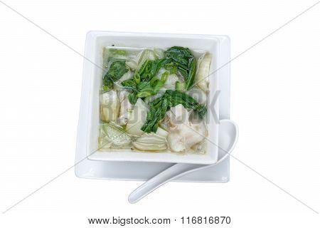 Wonton Chinese Soup