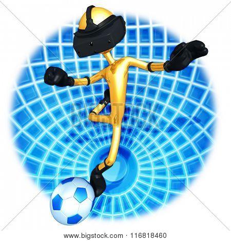 Virtual Reality Soccer