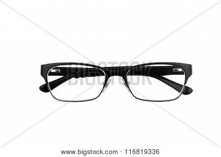 Black Horn Rimmed Glasses