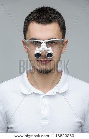 Dentist's portrait