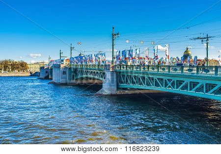 The Symbol Of Saint Petersburg