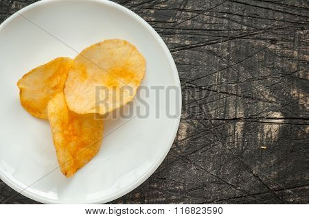 Chips On A Plate