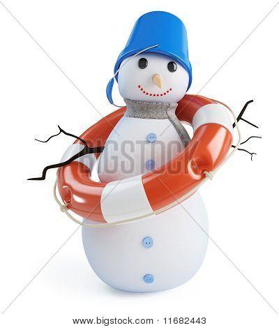 Snowmen Lifebelt