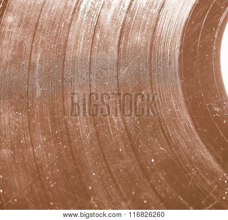 Scratched Record Vintage