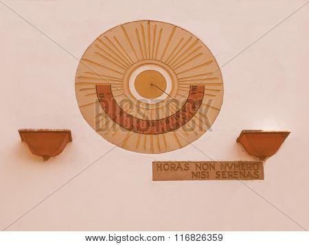 Sundial Vintage