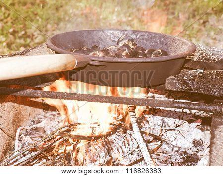 Retro Looking Barbecue