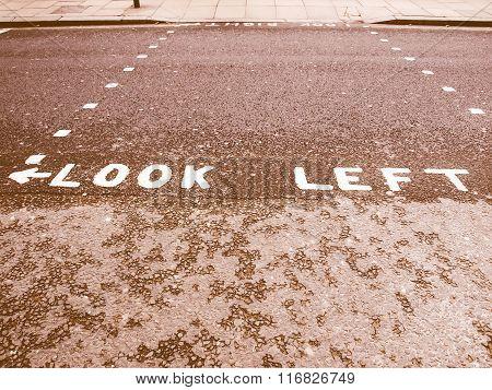 Look Left Vintage
