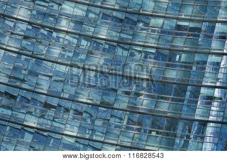MILAN, ITALY - NOVEMBER 7, 2015: Unicredit Tower designed by architect Cesar Pelli in the Porta Nuova district in Milan, Lombardy, Italy.