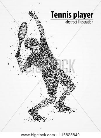 tennis, abstract, athlete