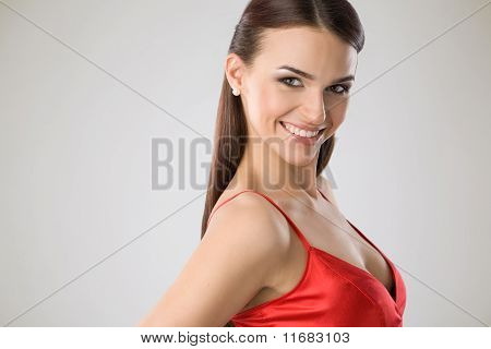 Portrait Of A Happy Woman