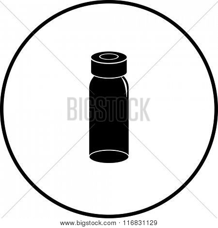 medicine vial bottle symbol