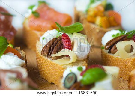 Delicious Canapes