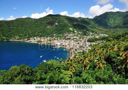 Descent Into Soufriere