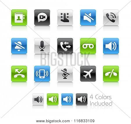Web and Mobile Icons 1 / The file Includes 4 color versions in different layers.