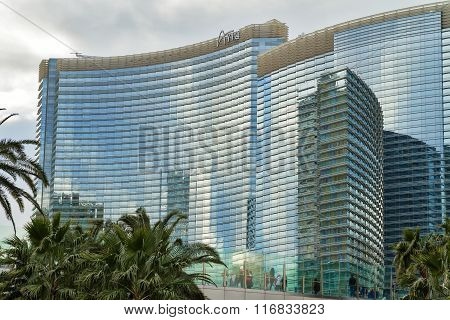 Aria Hotel And Casino on Strip, Las Vegas Boulevard, Nevada