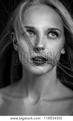 Sensual Girl Portrait