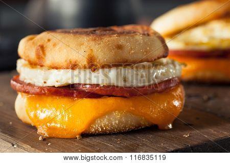 Homemade Breakfast Egg Sandwich