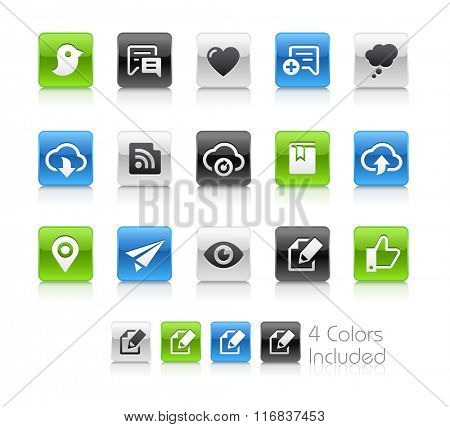 Web and Mobile Icons 8 / The file Includes 4 color versions in different layers.
