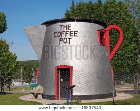 Giant Roadside Coffee Pot