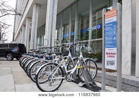 Detroit Zagster Bikes