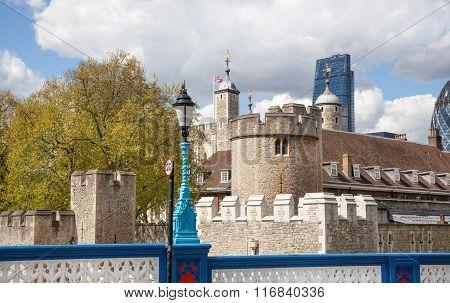 LONDON, UK - APRIL 30, 2015: Tower of London