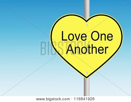 Love One Another (Copyspace)