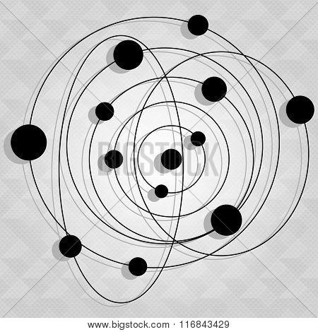 Galaxy Icon Vector Illustration