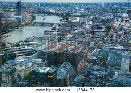 LONDON, UK - MAY 22, 2015: Tower of London night view.