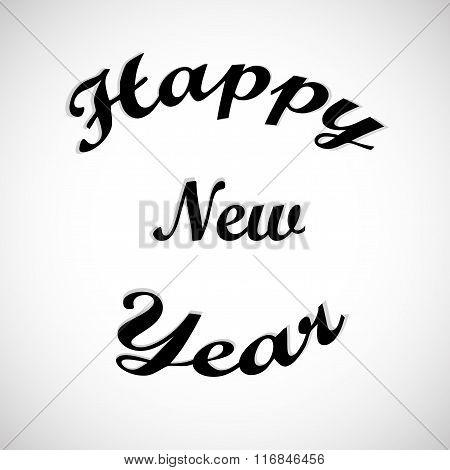 Happy New Year stylish background