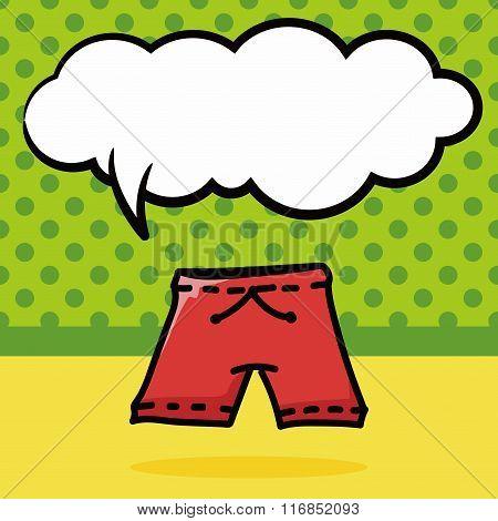 Short Pants Color Doodle