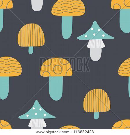 Pattern Of Mushroom