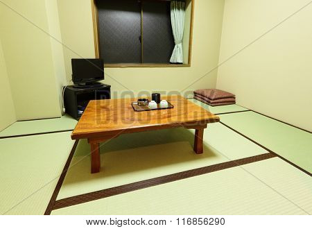 Interior of Japanese style house
